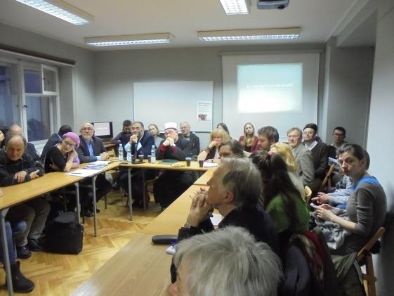 Fotografia z debaty o islamie